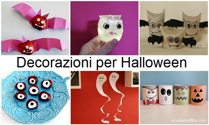 Decorazioni per Halloween fai da te
