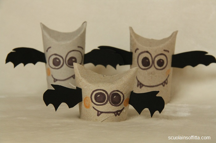 Decorazioni per Halloween DIY: i pipistrelli