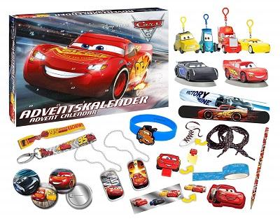 Calendario dell'avvento di Cars 3