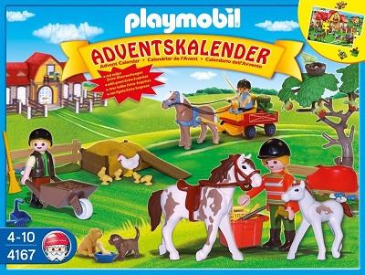 Calendario Avvento Playmobil.Calendario Dell Avvento Per Bambini Con I Giochi