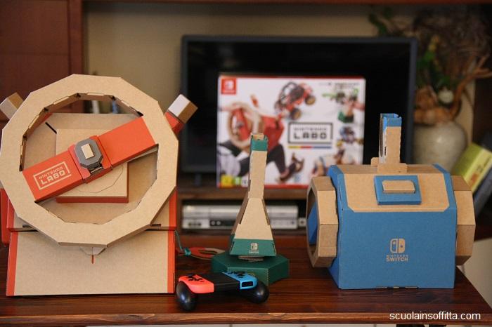 Nintendo Labo, kit veicoli