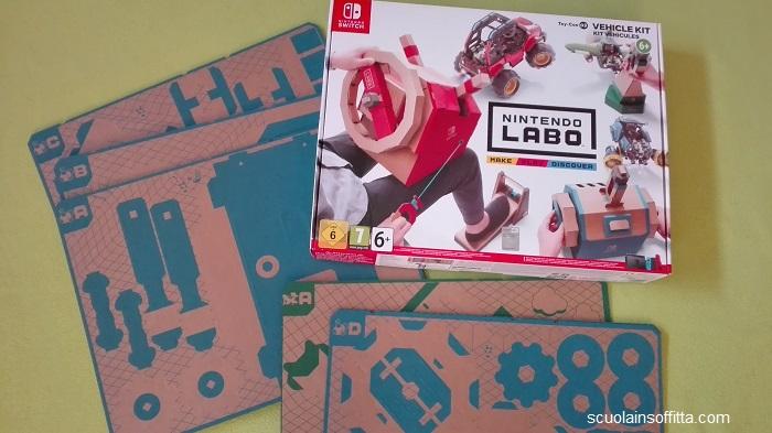 Nintendo Labo: kit di montaggio