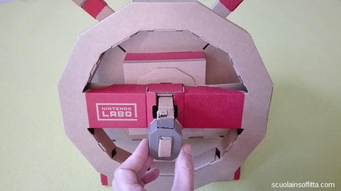 Nintendo Labo: Toy-Con volante con la chiave
