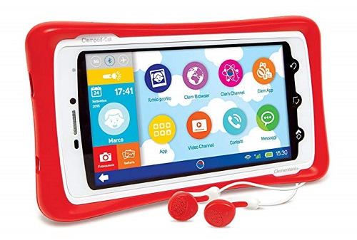 tablet per bambini clementoni Clempad