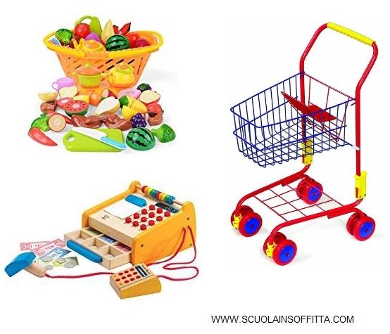 Giochi Montessori spesa