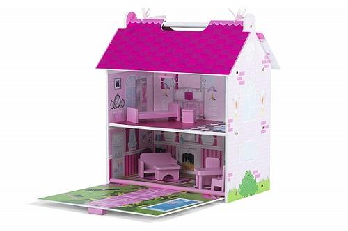 Costruire Una Casa Delle Bambole Di Legno : Casa delle bambole economica per le lol scuolainsoffitta