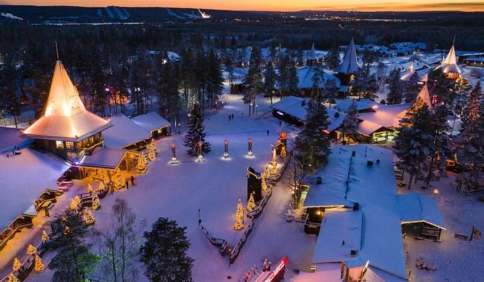 casa di Babbo Natale in Lapponia