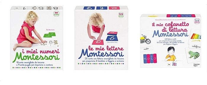 cofanetti Montessori l'ippocampo