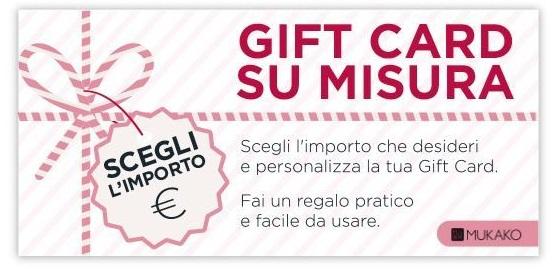 Gift card Mukako