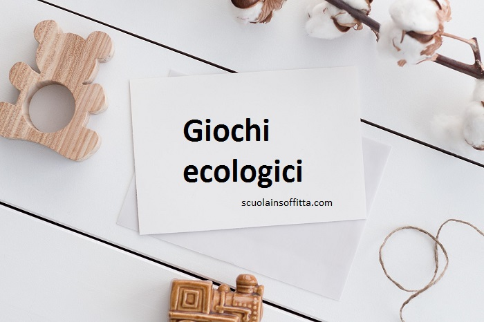 giochi ecologici