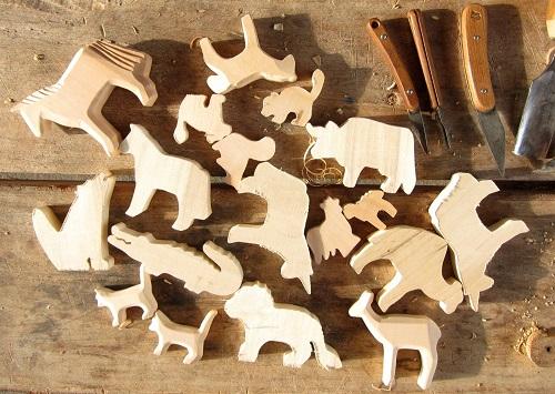 Giochi in legno waldorf
