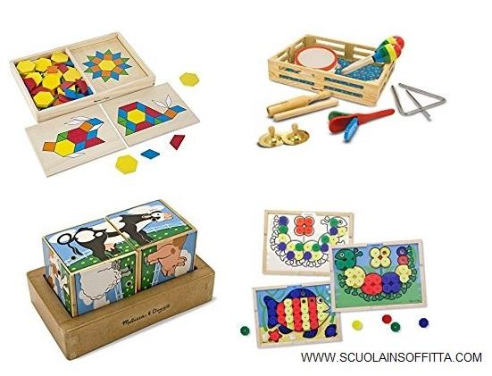 giochi montessori arte
