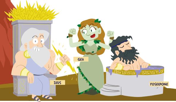 Mitologia per bambini in edicola