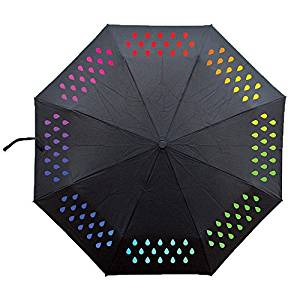 ombrello cambia colore