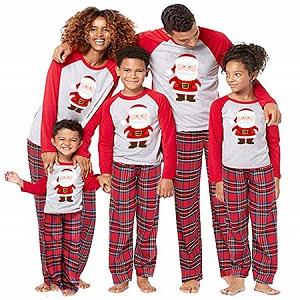 pigiama natale famiglia