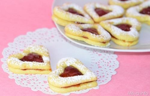 biscotti di san valentino mysia