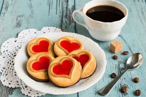 biscotti di san valentino senza burro