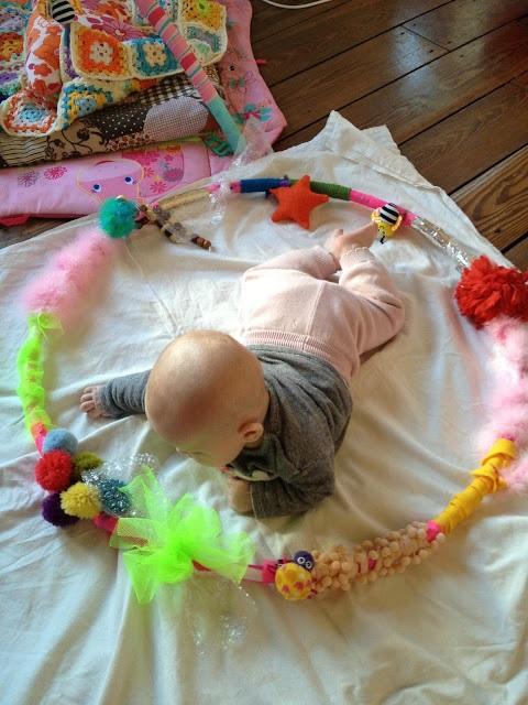 gioco sensoriale per neonati