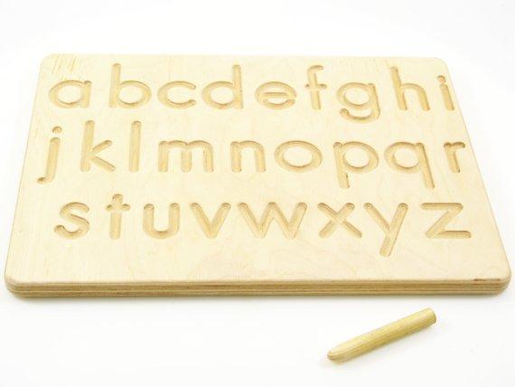 materiale montessori lettere