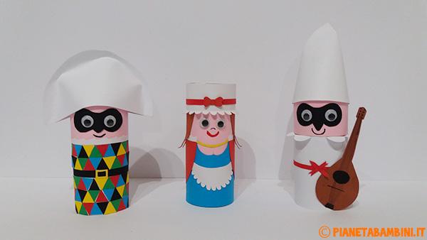 Lavoretti di Carnvele: maschere della tradizione