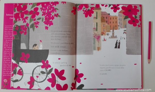 Libro per bambini bloom