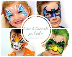 Trucco di Carnevale per bambini