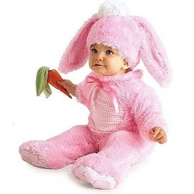 costume di carnevale per neonato coniglietto