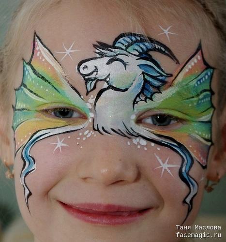 trucco da unicorno