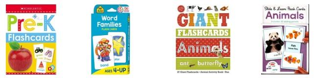 Flashcards in inglese per bambini