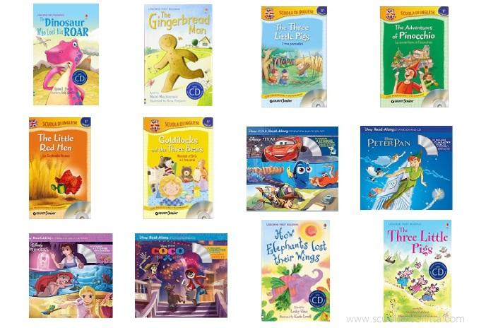 Libri per bambini in inglese con cd