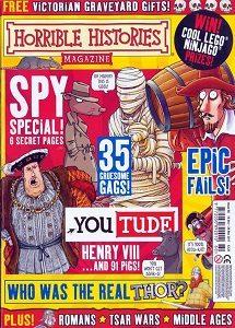 rivista inglese per bambini horrible stories