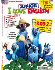 rivista inglese per bambini i love english