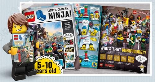 rivista inglese per bambini lego