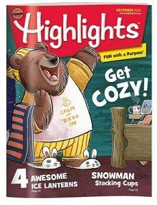 Rivista in inglese per bambini Highlights