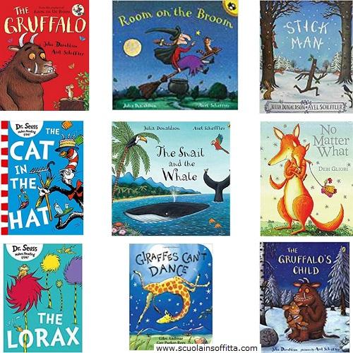 Libri in inglese per bambini da 3 a 6 anni