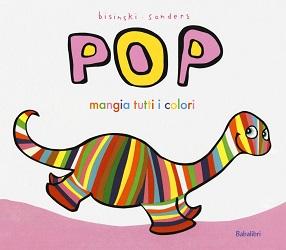Libro per bambini Pop mangia tutti i colori