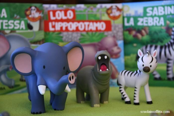 Gli Animali del mio Zoo collezione in edicola