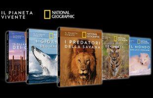 Il Pianeta Vivente di National Geographic in edicola