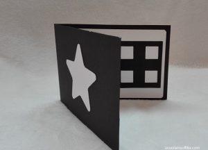 Libro Montessori per neonati fai da te con immagini bianco e nero
