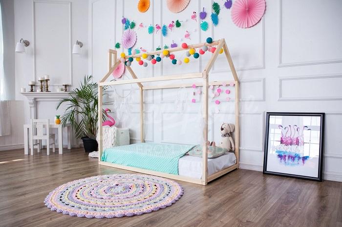 Cameretta per bambini in stile montessori