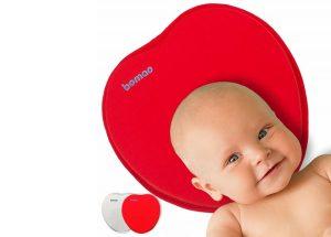cuscino per neonati anti testa piatta