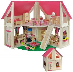 Casa delle bambole per 4 anni