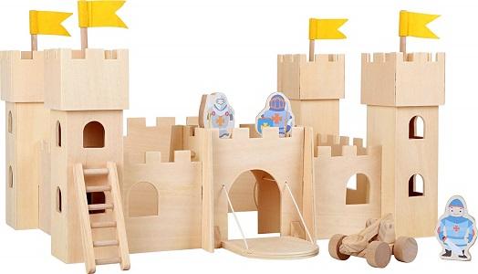Castello gioco in legno