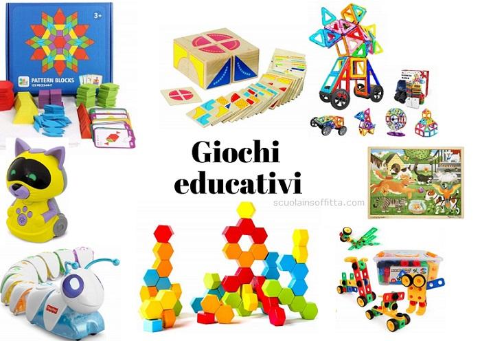 Giochi educativi per bambini di 3-5 anni