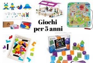 Idee regalo: giochi per bambini di 5 anni