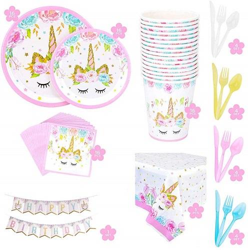 kit festa compleanno unicorno