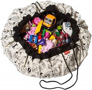 Regali utili per bambini: sacco portagiochi