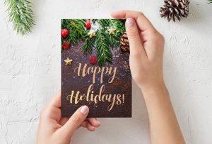 Biglietti di Natale: idee fai da te