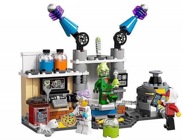 Giochi per bambini: Lego Hidden Side laboratorio spettrale