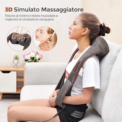 Regalo per una mamma: massaggiatore cervicale